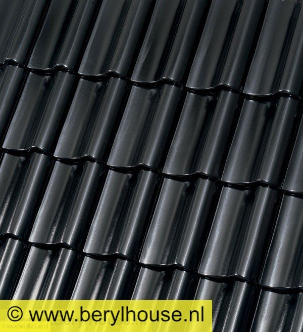 OVH 14,3 Zwart Mat Verglaasd
